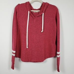 Hollister Light Weight Washed Red Hoodie